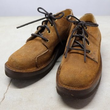 GRIZZLY BOOTS(グリズリー ブーツ) Lineman Oxford -Brown Rough Out-