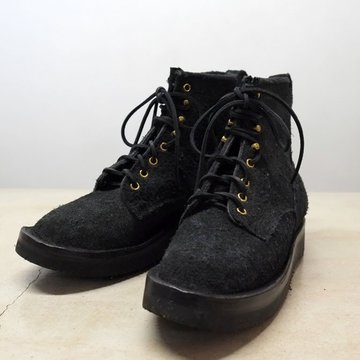 GRIZZLY BOOTS(グリズリー ブーツ) BLACK BEAR -BLACK ROUGH OUT-【別注】
