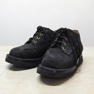 GRIZZLY BOOTS(グリズリー ブーツ) Lineman Oxford -BLACK ROUGH OUT-【別注】【Z】