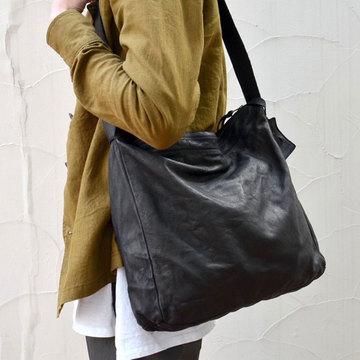 christian peau(クリスチャン ポー) LEATHER BAG -BLACK- #BD-20