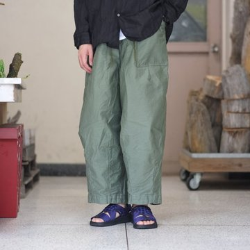 【2018 AW】NEEDLES (ニードルス)  H.D Pant [Fatigue] -Olive-