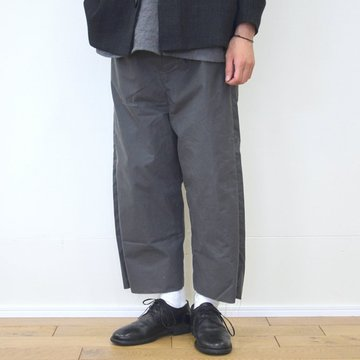 【30% off sale】 too good(トゥーグッド) / THE SCULPTOR TROUSER WAXED COTTON-CLAY-