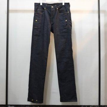 【30% off sale】【2016 AW】TAKAHIRO MIYASHITA The SoloIst.(タカヒロミヤシタ ザ ソロイスト) relaxed fit bikie jean. -INDIGO- #sp0003bAW16