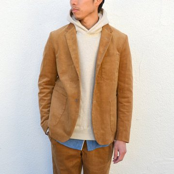 A VONTADE(ア ボンタージ) Lounge Jacket Stretch Corduroy -TAN- #VTD-0279-JK-C