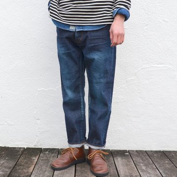 Ordinary fits(オーディナリーフィッツ) 5POCKET ANKLE DENIM used wash-INDIGO- #OM-P0200W
