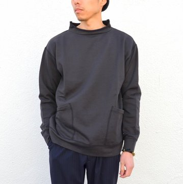 【17 SS】Honor gathering(オナーギャザリング) Supima Cotton High Count Micro Sweat -charcoal- #17SS-N02