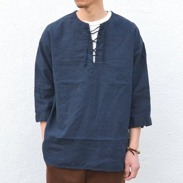 A VONTADE(ア ボンタージ) Race Up Tunic -#3 INK- #VTD-0276-SH