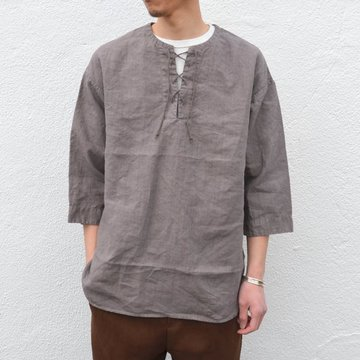 A VONTADE(ア ボンタージ) Race Up Tunic -#2 GREGE- #VTD-0276-SH