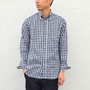 INDIVIDUALIZED SHIRTS(インディビジュアライズドシャツ)/BIG GINGHAM(Standard fit) -BLACK- #IS-71137