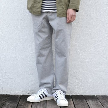 【17 SS】 AURALEE(オーラリー) STAND-UP EASY PANTS -TOP GRAY- #A7SP04SU