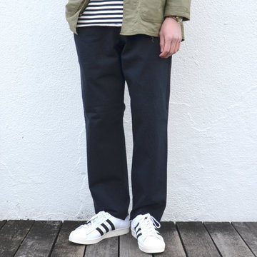 【17 SS】 AURALEE(オーラリー) STAND-UP EASY PANTS -NAVY BLACK- #A7SP04SU