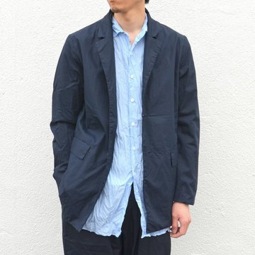 CASEY CASEY(ケーシーケーシー)/ CRISP JACKET -NAVY- #08HV130