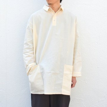 too good(トゥーグッド) / THE APPLEPICER TOP COTTON PERCALE SHIRT -RAW-
