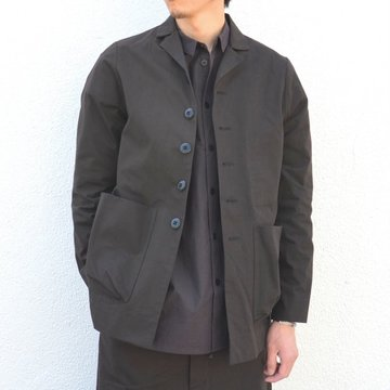 too good(トゥーグッド) / THE PHOTOGRAPHER JACKET PLAIN COTTON -SOOT-