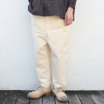 too good(トゥーグッド) / THE SCULPTOR TROUSER -RAW-