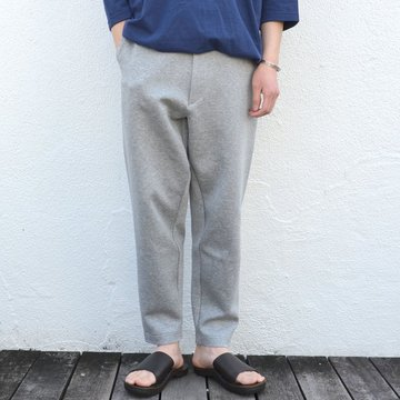 toff(トフ) / DRAWCORD SWEAT TROUSERS -GRAY- #17STPT05