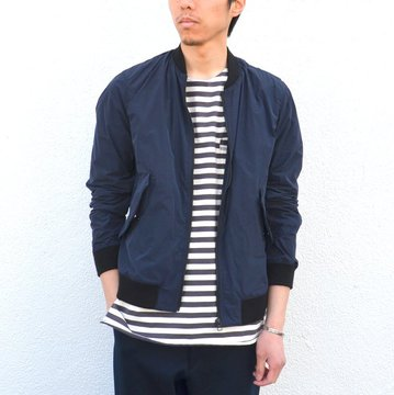 toff(トフ) / FLAP POCKET ZIP UP BLOUSON -NAVY- #17STBZ02
