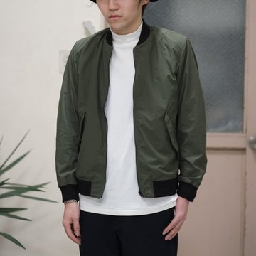 toff(トフ) / FLAP POCKET ZIP UP BLOUSON -OLIVE- #17STBZ02