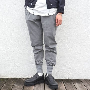 alk phenix(アルクフェニックス) / crank rib pants /tech-urake -GRAY- PO712PA01