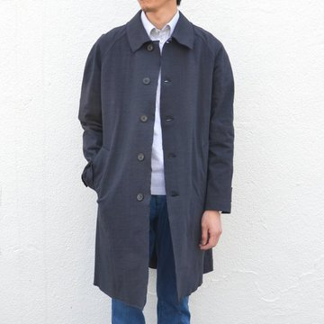 Harris Wharf London(ハリスワーフロンドン)/ Creased Cotton Oversized Coat -(359)dark blue- #C9136PYC