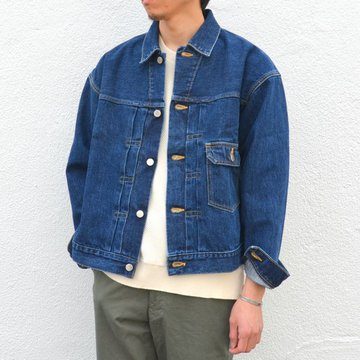 7 × 7 / seven by seven ( セブン バイ セブン )  1st Type Denim Jacket -Indigo-  #FW2017-7X7DJK