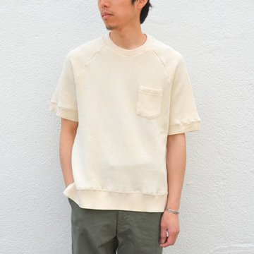 FLISTFIA(フリストフィア)/Short Sleeve Pull Over -Off White- #SO02016