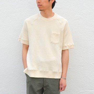 FLISTFIA(フリストフィア)/Short Sleeve Pull Over -Off White- #SO02016