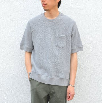 FLISTFIA(フリストフィア)/Short Sleeve Pull Over -Heather Gray- #SO02016
