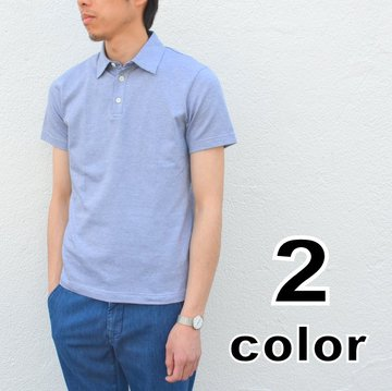 Harris Wharf London(ハリスワーフロンドン)/ Man polo Cotton Shirt -2color- #C4002PGC