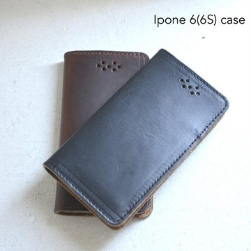 FERNAND LEATHER(フェルナンド・レザー)/I Phone Case iphon 6(6S) -2色展開-