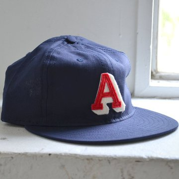 EBBETS FIELD FLANNELS(エベッツ・フィールド・フランネルズ)/  6PANEL ATLANTA CRACKERS 1939(COTTONLINEN)-NAVY- #EFF17SS-20