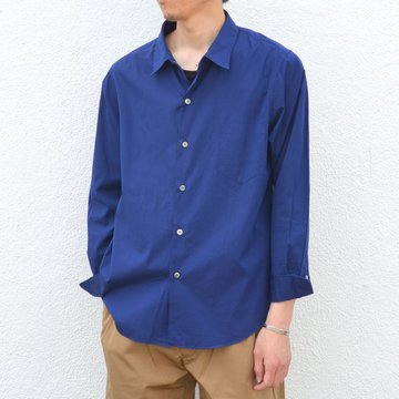 semoh(セモー)/ Regular collar Shirt -NAVY- #SA01-1-06