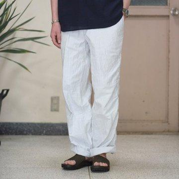 kolor BEACON(カラービーコン) 強晒ホワイトデニムパッカリングデニム -(A) ホワイト- #17SBM-P07133