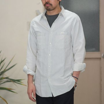 【2017 SS】7 × 7 / seven by seven ( セブン バイ セブン ) CHAMBRAY SHIRT  - BLEACH -  #SS2017-7x7CBS