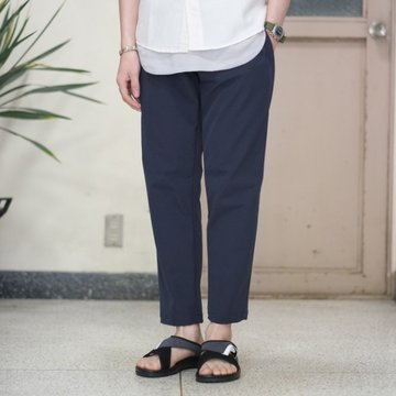 alk phenix(アルクフェニックス) / crank ankle pants /tech-urake -NAVY-  #PO712PA02