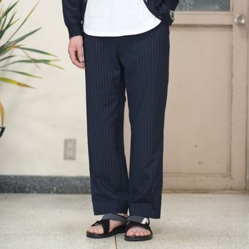 toff(トフ) / DRAWCORD WOOL SLACKS -NAVY- #17STPT03