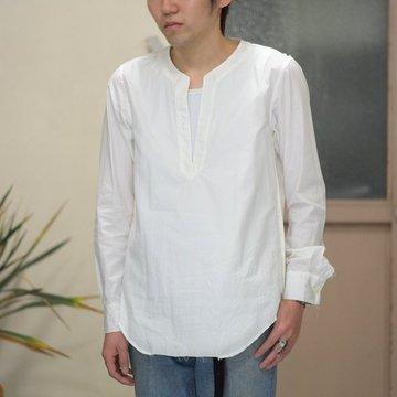 【2017 SS】TAKAHIRO MIYASHITA The SoloIst.(タカヒロミヤシタ ザ ソロイスト) tunic shirt -WHITE- #sws0008SS17