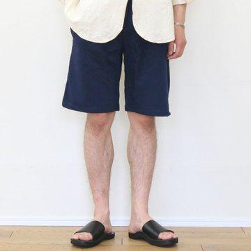 Merz b. Schwanen(メルツ・ベー・シュヴァーネン) sweat pant short -ink blue- #3S59