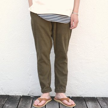 THING FABRICS(シング ファブリック)/ Button Fly Pant -Olive-