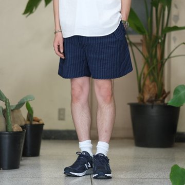 NEAT(ニート)/ Seersucker Short Pant -NAVY/BLUE- #17-01SSS