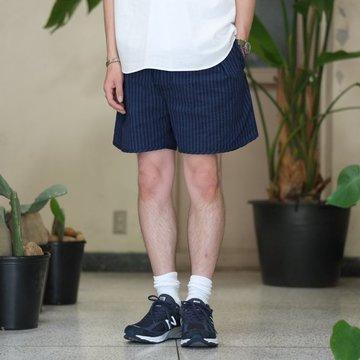 NEAT(ニート)/ Seersucker Short Pant -NAVY/BLUE- #17-01SSS