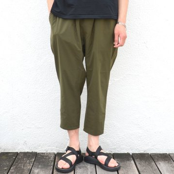 EVERLAST(エバーラスト)/ WIDE GYM PANTS -KHAKI- #G1712-3G50