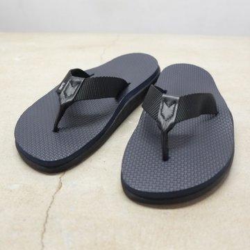 ISLAND SLIPPER (アイランドスリッパー) Men's Thong -BLACK-
