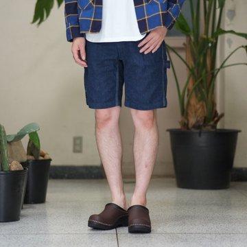 orSlow(オアスロウ) SLIM FIT PAINTER SHORTS -denim one wash- #01-7124-81