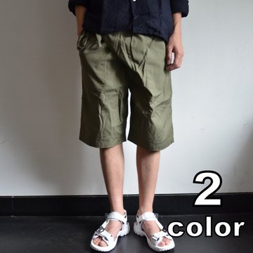 MONITALY(モニタリー)/ NAYARIT SHORTS -2色展開- #M21351