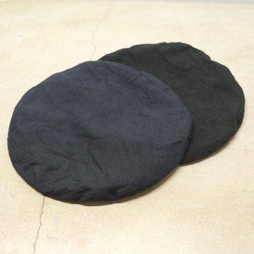 【30% OFF SALE】【2017 SS】KIJIMA TAKAYUKI(キジマタカユキ) リネンビッグベレー  -2色展開(BLACK,NAVY)- #KN171001