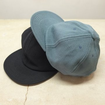 【2017 AW】crepuscule(クレプスキュール)B.B Cap  -2色展開(BLACK,BLUE GREEN)- #1703-016