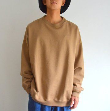 【17 AW】MARKAWARE(マーカウェア)/ HUGE SWEAT SHIRTS -COYOTE- #A17C-20CS02C-C