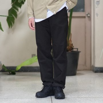 orSlow(オアスロウ) FRENCH WORK PANTS (UNISEX) -(61B)BLACK -