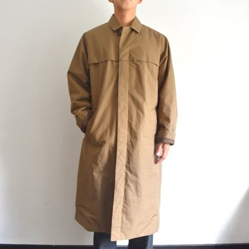 【17 AW】AURALEE(オーラリー)/ HIGH COUNT CLOTH BATTING LONG COAT -OLIVE- #A7AC01BT